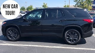 NEW CAR TOUR -- 2019 CHEVY TRAVERSE RS