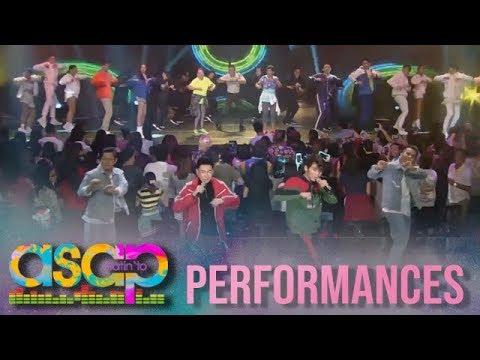 ASAP: Inigo performs his all time hit song 'Dahil Sa'Yo' with the viral Zumba dancers