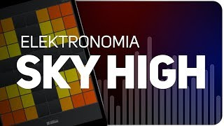 Playing SKY HIGH | Elektronomia on SUPER PADS LIGHTS - KIT SHOCK