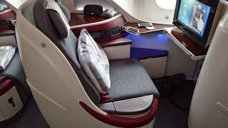 Qatar Airways Business Class on the Boeing 787 : Munich to Doha QR58