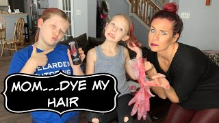 Arctic Fox Hair Dye | The Girls Wanted There Hair Red!