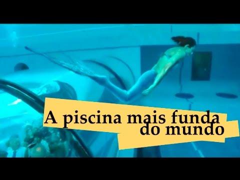 Viajando por a piscina mais funda do mundo youtube - Fundas para piscinas ...