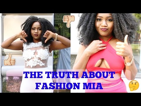 THE TRUTH about FASHION MIA | Clothing TRY-ON HAUL\ REVIEW