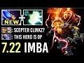 NEW IMBA SCEPTER 7.22 Clinkz is OP! Crazy Wind Walk Skeletons Summon Insane Damage by Aui Dota 2