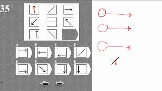 IQ TEST matrix 35 SOLVED AND EXPLAINED