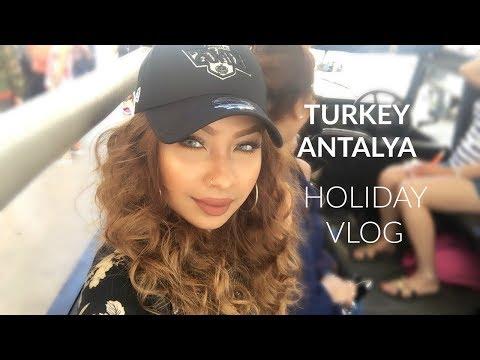 HOLIDAY IN ANTALYA TURKEY VLOG