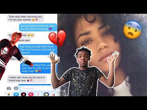 "JUICE WRLD ""ROBBERY"" LYRIC PRANK ON GIRL I REJECTED 😬🤭 *GETS AWKWARD*"