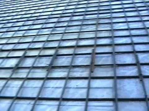 Армирование бетонного перекрытия