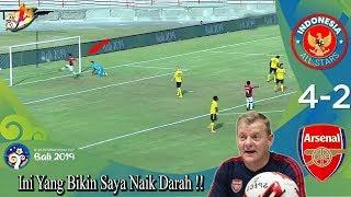 Di Pecundangi 2x Oleh Indonesia All Star U20, Begini Komentar Pelatih Arsenal Yang Naik Darah!!
