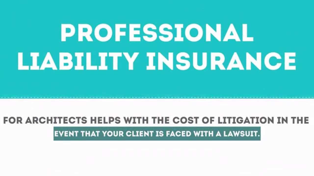 Architect Professional Liability Insurance Idea