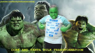 Download Marvelous Comedy - COKE AND FANTA - HULK TRANSFORMATION (Family The Honest Comedy)