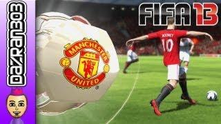 FIFA 13 Wii U MANCHESTER UNITED Vs BAYERN MUNICH WiiU Gameplay Commentary by Dazran303