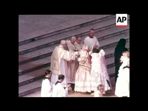 ELECTION NEW POPE JOHN-PAUL II (Cardinal Karel Wojtyla of Poland) - COLOUR
