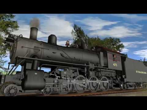 K&L Trainz Norfolk & Western:Strasburg Railroad #475 4-8-0 Mastadon