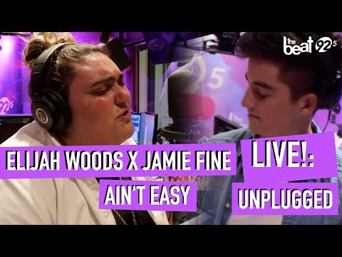 Elijah Woods x Jamie Fine - Ain't Easy - LIVE!: Unplugged at The Beat 92.5