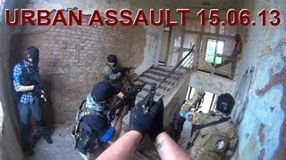 Urban Assault Airsoft Game 15.06.13 w/ Scar L CQC and Hi-Capa 4.3