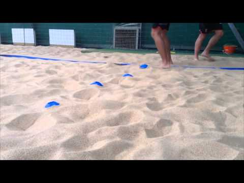 Beach volleyball training 4 exercises footwork youtube.