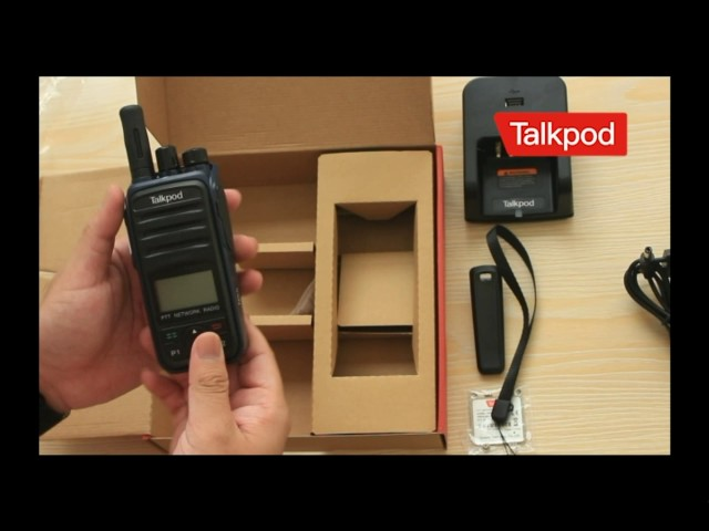 Talkpod PTT Network Radio N55 Unboxing