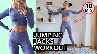 Jumping Jack Weight Loss Workout (10 Mins)