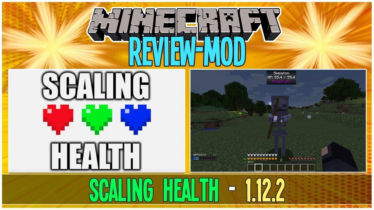 Review Scaling Health Mod Para Minecraft 1 12 2 Personaliza Tu Juego 42 Youtube