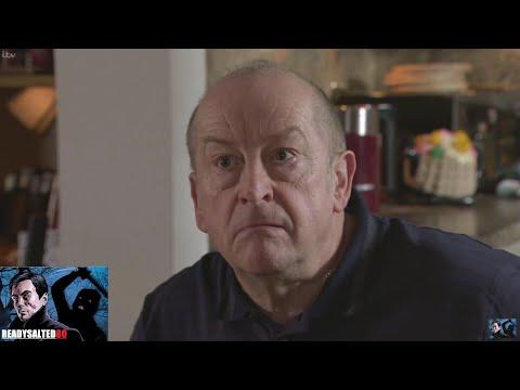 Coronation Street - Geoff Watches As Yasmeen Eats Food Off The Floor