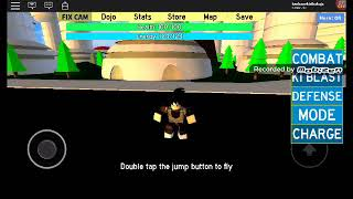 I got the Ultra superior instinct dominated in the Dragon ball bust Roblox