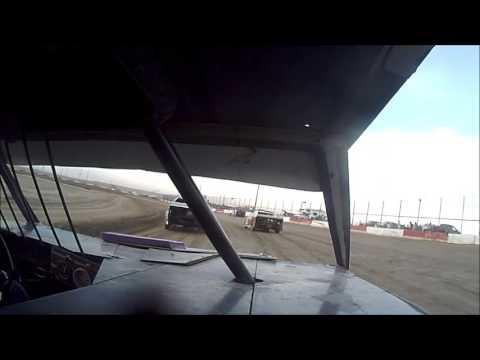 6 10 16 Casper Speedway  mod 4 heat 2 in car