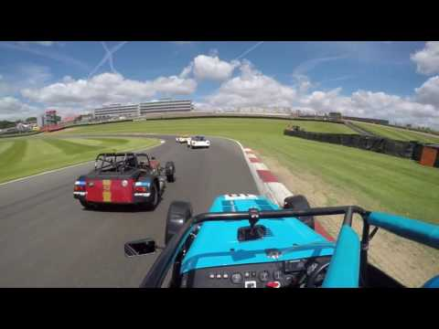 Caterham 270R Brands Race 2 Highlights - David Bevan