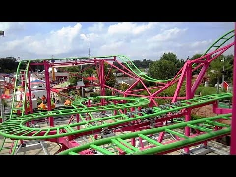 FunCoaster front seat on-ride HD POV Funplex
