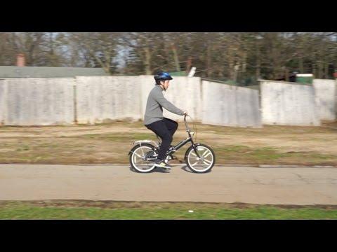 Schwinn Hinge Folding Bike Test Ride Youtube
