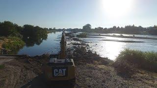 Caterpillar 336E In The Snake River