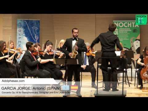 Antonio GARCIA JORGE Spain   Concerto OP14 by Lars Erik LARSSON