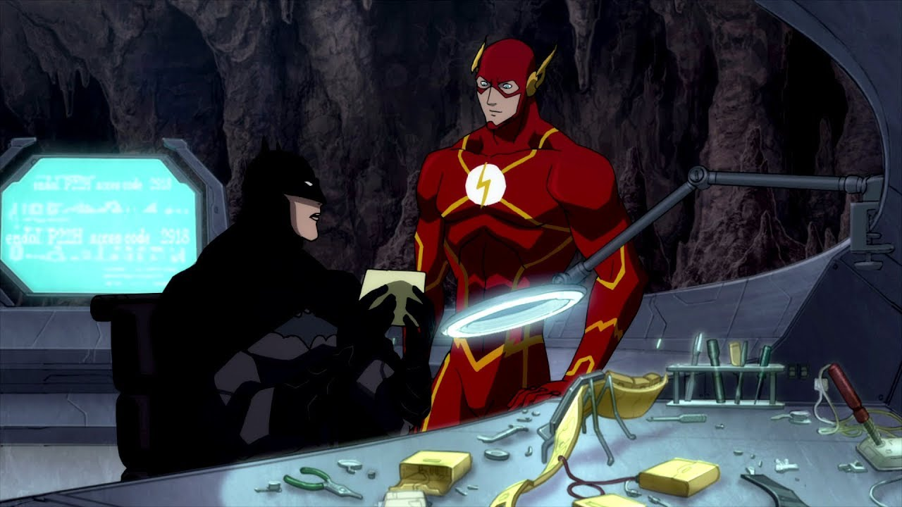 Download Letter to Batman | Justice League: The Flashpoint Paradox