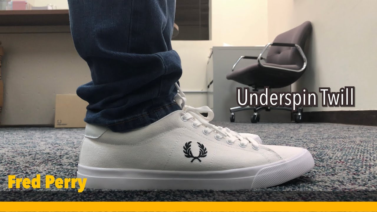 Fred Perry Underspin Twill | Unboxing