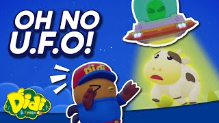 Oh No I Found UFO !   Nursery Rhyme & Song For Kids   Didi & Friends
