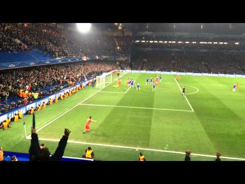Thiago Silva 2-2 Chelsea-PSG Champions League 150311