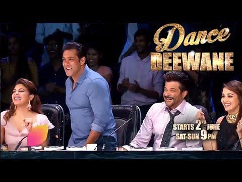 Dance Deewane   Salman Khan   Race 3 Team   Colors Tv Dance Reality Show Dance Deewane 2018