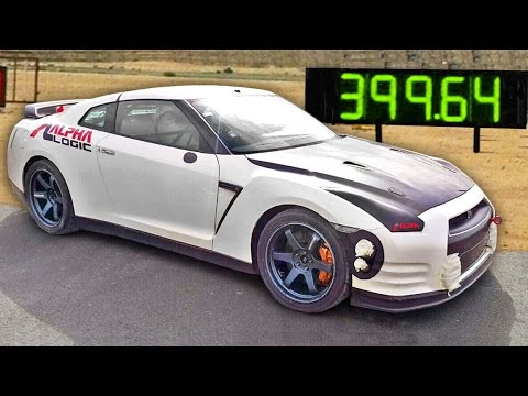 FASTEST 1/2 MILE CAR IN THE WORLD!  New Record - 248.32 MPH