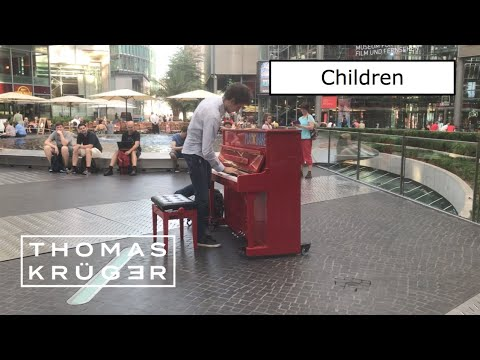"THOMAS KRÜGER – ""CHILDREN"" (Robert Miles) At SONY CENTER BERLIN"