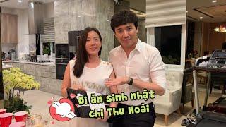 (한) Hari,Trấn Thành, Thu Minh, Trúc Nhân mừng sinh nhật Thu Hoài 하리, 쩐탄, 투민, 쭉년이 투화이씨의 생일을 축하해주러 가다