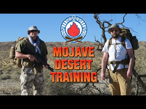 MOJAVE DESERT SURVIVAL TRAINING ★ Can We Survive
