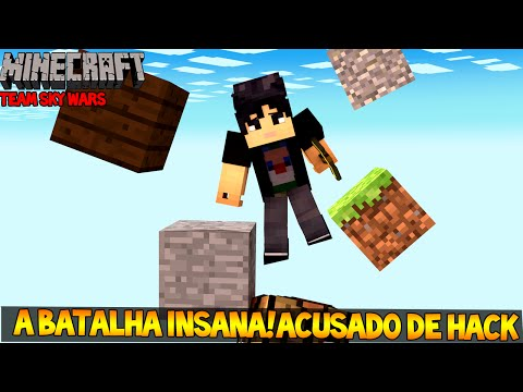 Minecraft - SKYWARS - A Batalha Insana! Acusado de Hack!