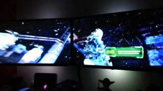 Dead Space 3 - 5760x1080 -ULTRA- HD7990 3x55 inch LED TV (Parte 1)
