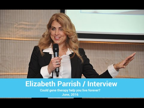 Elizabeth Parrish in Moscow / Could gene therapy help you live forever?