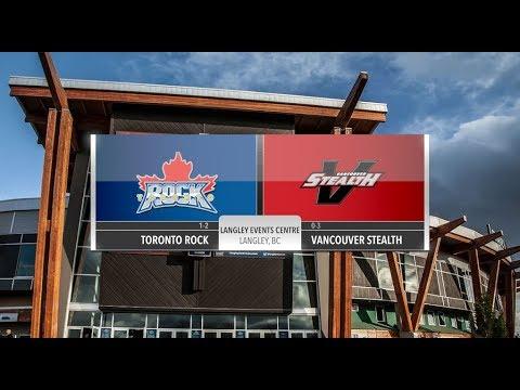GAME HIGHLIGHTS: Toronto Rock @ Vancouver Stealth Week 5
