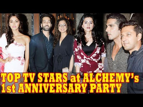 Haasil Team & Top TV Stars At Alchemy Production's 1st Anniversary Party   Full Video