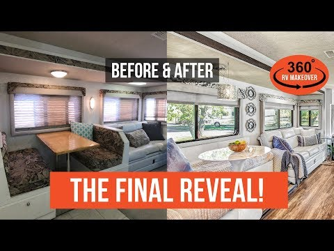 THE FINAL REVEAL: Before & After RV Renovation | RVLOVE's Ultimate