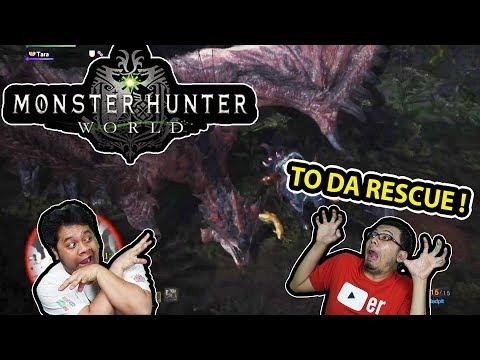 Monster Hunter World - GABIJH TO THE RESCUE! (With Bang Tara)
