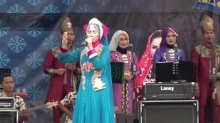 Finalis Remaja Putri 88 dari Maluku pada Festival Bintang Vokalis Seni Qasidah Nasional 2016 di Lamp