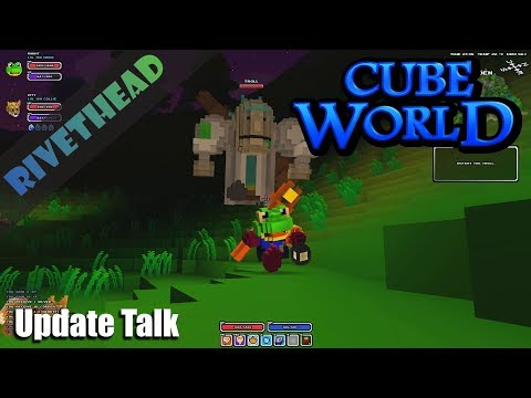 What I know about the update so far. (Cube World Sundays)